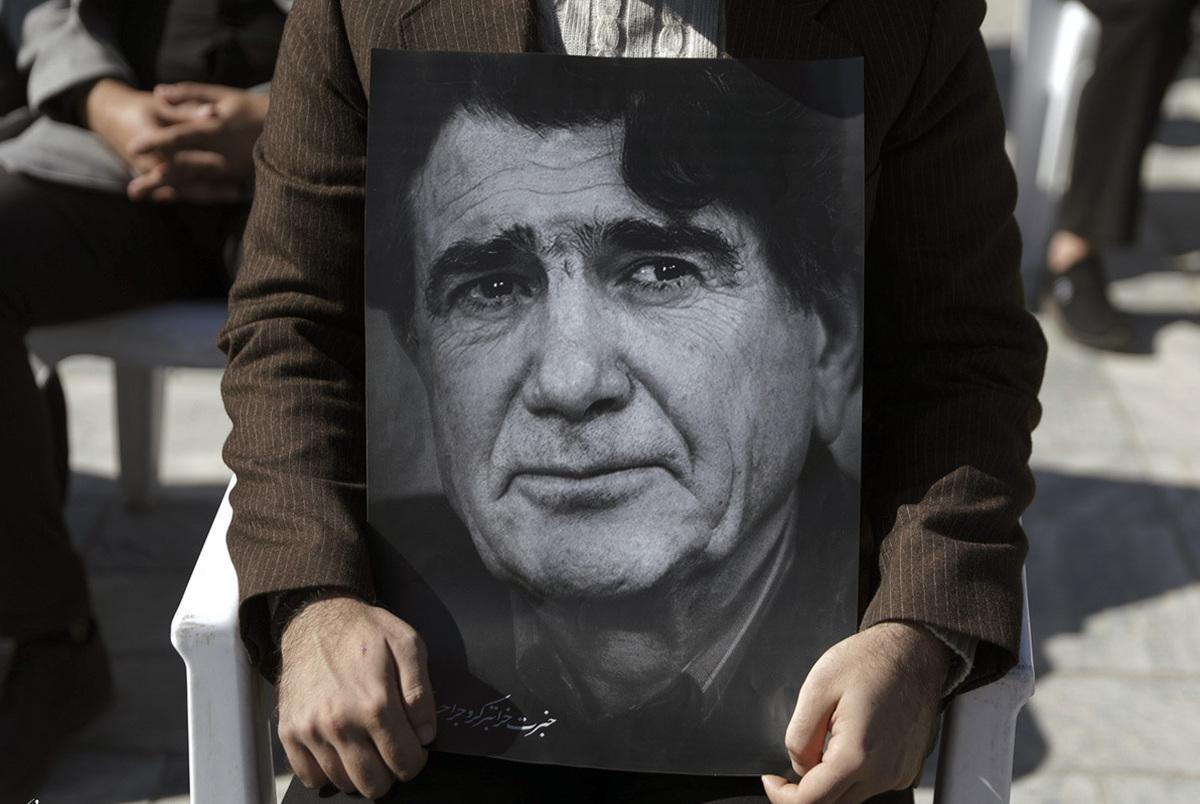 برگزاری مراسم نخستین سالگرد درگذشت استاد شجریان در مشهد + فیلم آواز همایون