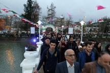 جزیره لاهیجان با حضور بیش از پنج هزار نفر از مردم بازگشایی شد