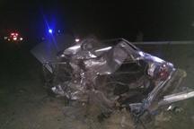 واژگونی خودرو پراید در جاده قوچان 2 مصدوم بر جای گذاشت