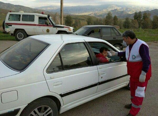 انتقال ۱۰ نفر با علائم مشکوک به کرونا به مراکز درمانی گیلان