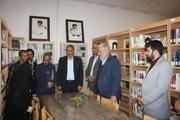کتابخانه استاد کامبوزیا هویت شهر زاهدان است