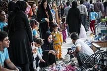 نبض تند خرید عید نوروز در بازار دستفروشان مازندران