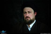 تسلیت سید حسن خمینی به آیتالله سید جواد گلپایگانی