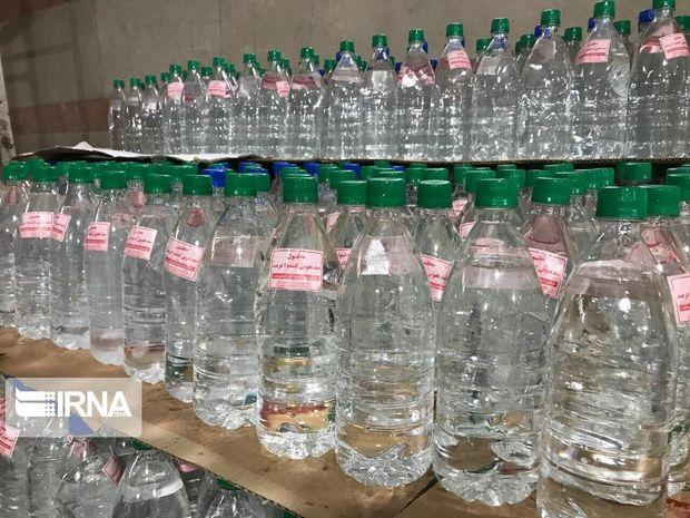 ۳۷۰ هزار لیتر الکل در استان مرکزی توزیع شد