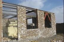 مدرسه روستای گرماش 40 درصد پیشرفت فیزیکی دارد
