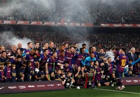 بارسلونا برد، اتلتیکو نایب قهرمان شد/ رئال از برد، باخت ساخت