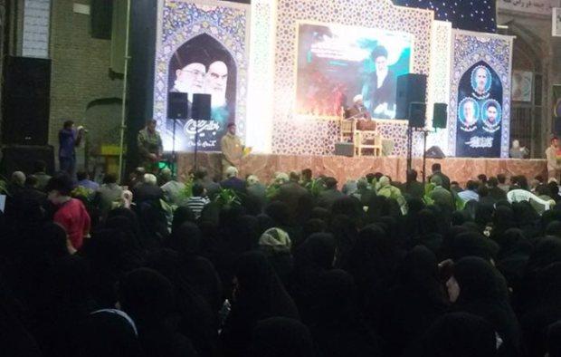 سومین یادواره شهدای مدافع حرم بهشهر برگزار شد