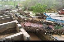 بارش شدید باران به زیرساخت های سرپل ذهاب خسارت جدی وارد کرد