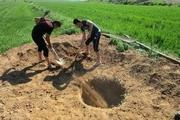 انسداد ۲۴ حلقه چاه غیر مجاز در محدوده غرب گلستان