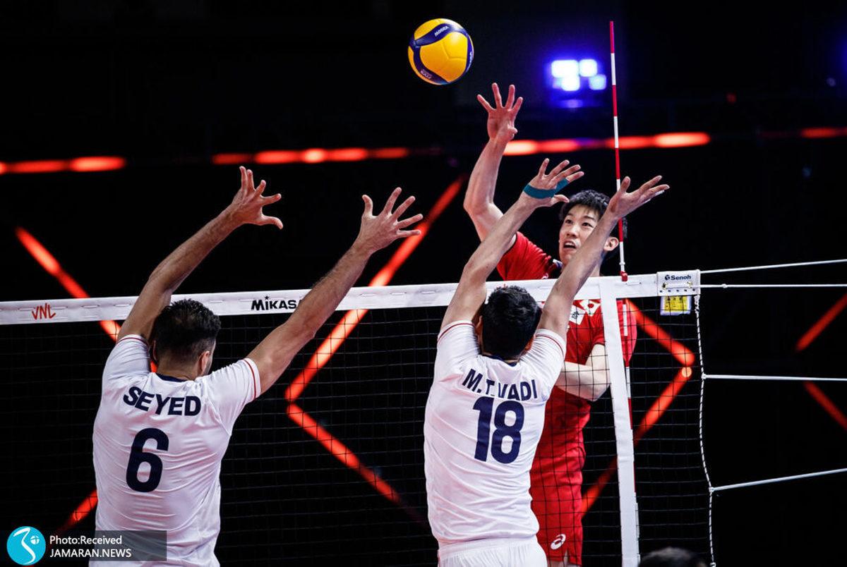 آسمان برای والیبال ایران تپید!