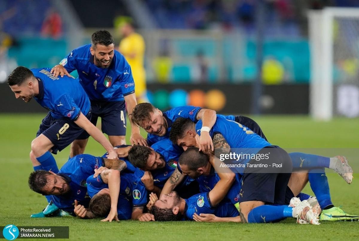 بازیکن ایتالیا ادای رونالدو را درآورد! +عکس