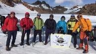 نوجوان مهابادی به قله سبلان صعود کرد