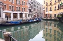 کانال ونیز (ایتالیا)خالی از گردشگر