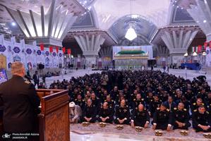 مراسم تجدید میثاق فرماندهان و کارکنان نیروی دریایی با بنیانگذار جمهوری اسلامی ایران