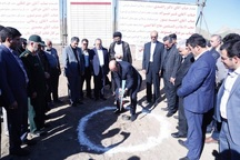 ساخت یک طرح خدماتی با حضور استاندار قزوین در آبیک آغاز شد