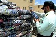 کشف لباس قاچاق در همدان