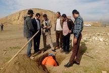 تعیین عرصه و حریم تپه باستانی در2 روستای ملایر آغاز شد