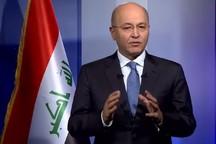 رئیسجمهور عراق: روابط با ایران برای ما بسیار مهم است