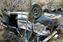 سقوط خودروی پراید به دره در جاده زنجان - دندی 2 قربانی گرفت