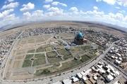 خواناسازی برج و باروی ارگ شهر سلطانیه در ایستگاه پایانی