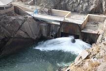 دومین مرحله رهاسازی آب از سد بوکان به دریاچه ارومیه آغاز شد