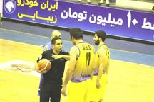 داور بین المللی بسکتبال به علت مصدومیت خانه نشین شد