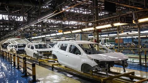 افزایش تولید انواع خودروها