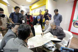 تهرانگردی احمد مسجد جامعی بهمناسبت هفته دفاع مقدس