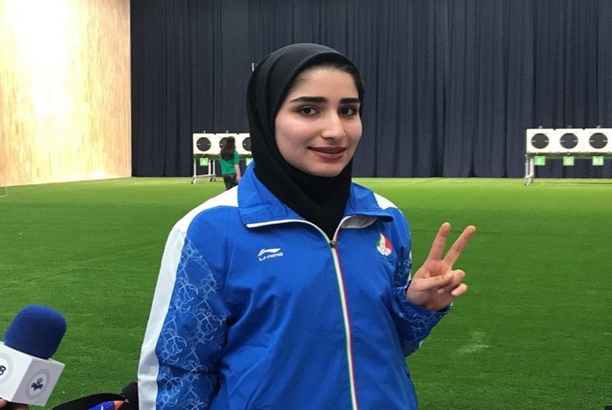 معرفی پرچمدار زن کاروان ایران در المپیک ۲۰۲۰