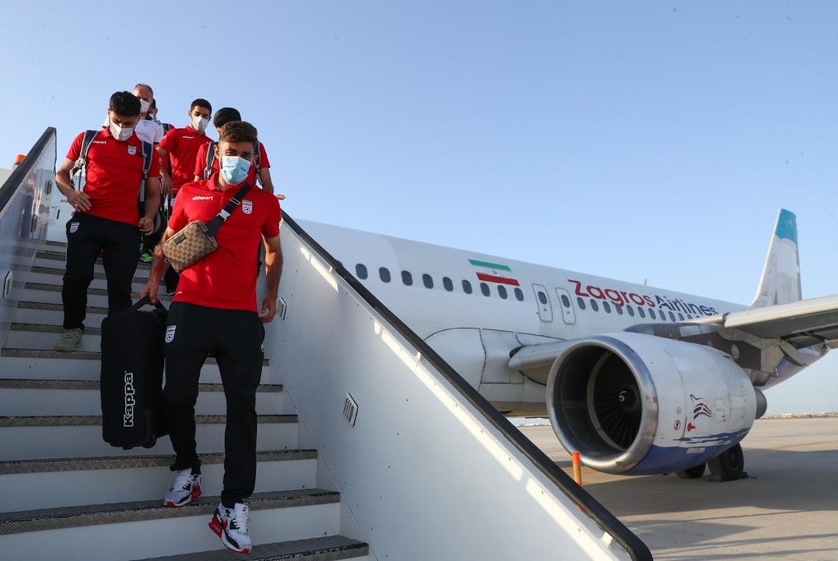 تیم ملی فوتبال در دبی وارد قرنطینه شد