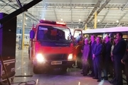 خودروی جدید تولید شده در قزوین رونمایی شد