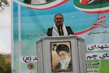 فرمانده سپاه خوزستان:خون شهدا نعمت امنیت پایدار را برای ما به وجود آورد