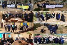 بازدید فعالان سمن ها از خانه تاریخی ماپار و گور دخمه های پارک کوهساران در اهواز