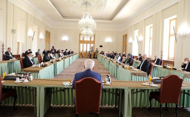 مذاکرات بین افغانستانی ها در تهران به پایان رسید/ طرفین بیانیه ای صادر کردند