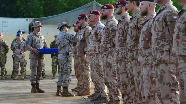 خروج نیروهای جمهوری چک از عراق