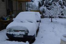 مشکلات ناشی از بارش بی سابقه برف بهاری در البرز