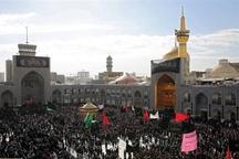 اجتماع عظیم عزاداران رضوی در مشهد برگزار شد