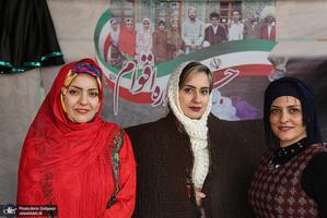 جشنواره اقوام ایرانی به مناسبت هفته وحدت در منطقه 22