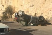 واژگونی خودروها پرشمارترین سانحه مرگبار جاده ای