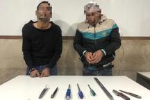 سارقان گاوصندوق های شهرک غرب دستگیر شدند