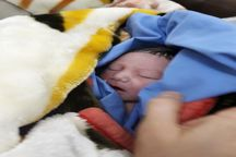 نوزاد در آمبولانس چشم به جهان گشود