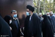 مراسم ترحیم همسر امام موسی صدر در تهران