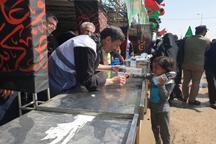 رئیس بنیاد مستضعفان در موکب اربعین + عکس