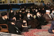 عزاداری شب عاشورای حسینی(ع) در حرم مطهر امام خمینی(س)