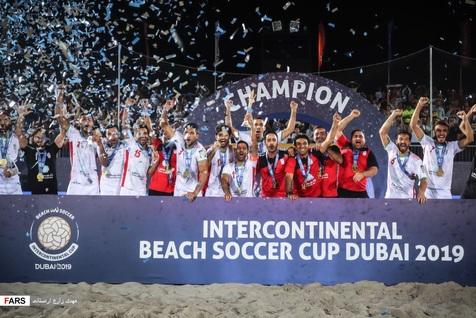 مربی تیم ملی فوتبال ساحلی: امیدوارم قهرمانی بعدی در جام جهانی باشد