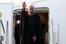 رئیس جمهوری مشهد را ترک کرد