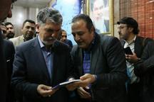 هشت کتاب شاعران خوزستان با حضور وزیر ارشاد رونمایی شد