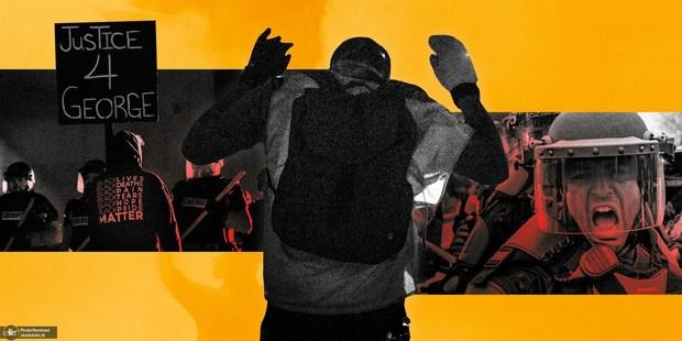 سیاهپوستان آمریکا عدالت را فریاد می زنند