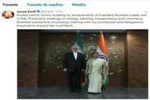 ظریف: سفر پرثمری به هند داشتم