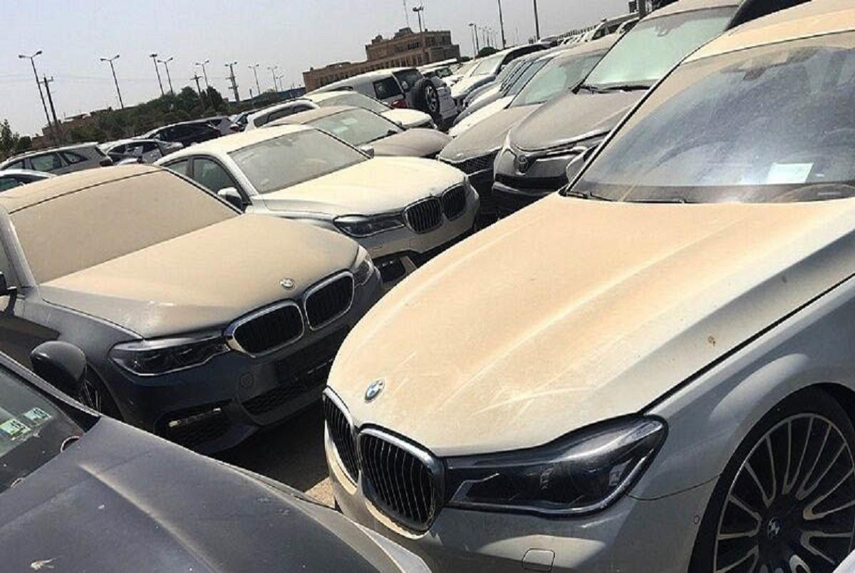 سرنوشت خودروهای لوکس معطل در گمرک چه شد؟/ ماجرای حراج خودروهای لاکچری چیست؟